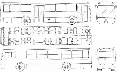 Breda Autobus Suburbano S.210 (1980)