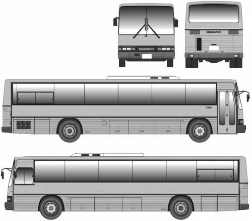 Daewoo bus BH113
