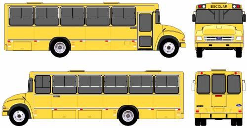 Ford B-12000 Bus (1996)