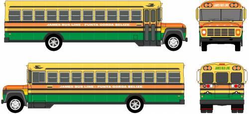 Ford B-7000 Bus (1978)
