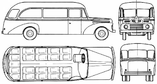 Ford Bus (1955)