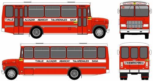 Ford E-700 Bus (1988)
