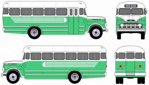 Ford F-600 Bus (1952)