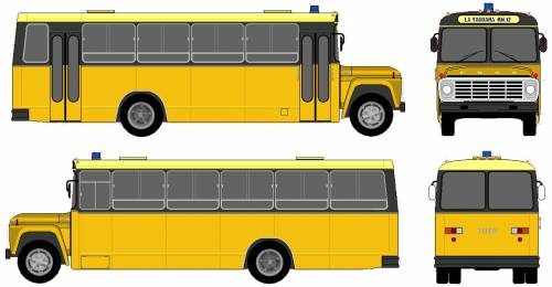Ford F-700 Bus (1975)