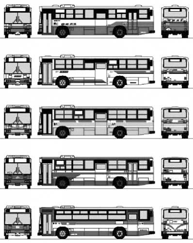 Hino Blue Ribbon HU Bus