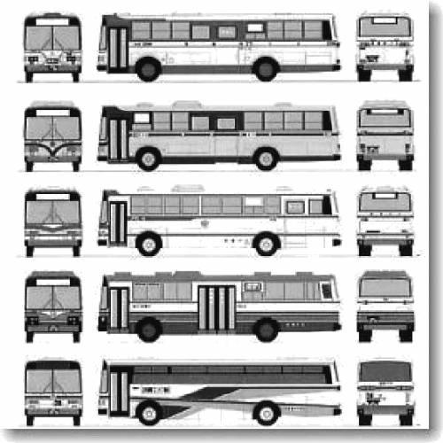 Hino Selega Bus