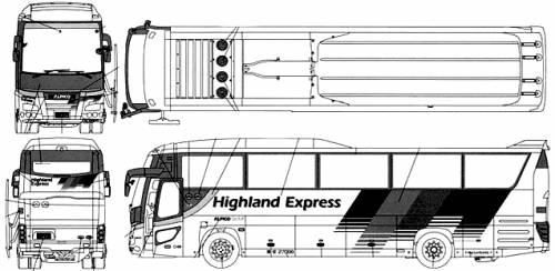 Hino Selega SHD Alpico Highland