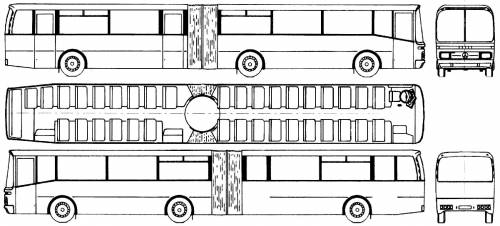 Mercedes-Benz Gelenkbus Vetter (1977)
