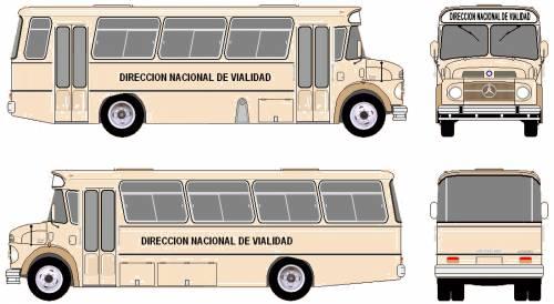 Mercedes-Benz L1114 Bus (1976)