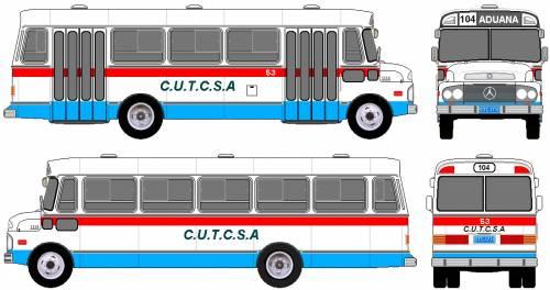 Mercedes-Benz L1114 Bus (1978)