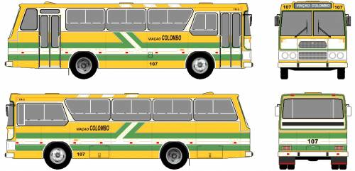 Mercedes-Benz LPO-1113 Bus (1974)
