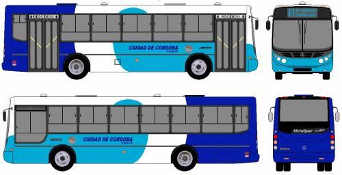 Mercedes-Benz Metalpar Bus (2007)