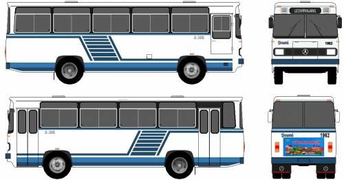 Mercedes-Benz O306 Bus (1990)