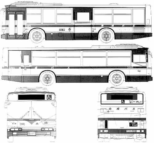 Mitsubishi Fuso Aero Star Transit Bus