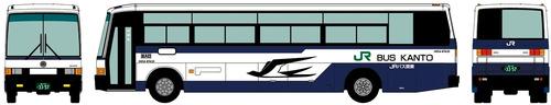 Mitsubishi Fuso Early Aero Bus (1998)