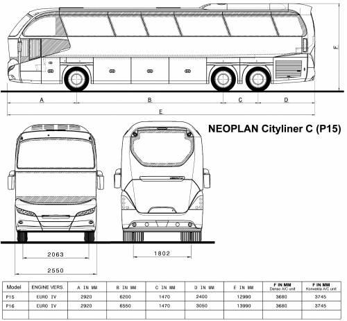 Neoplan Cityliner C P15