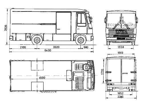 Autosan H6 Furgon (1992)