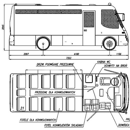 Autosan H7-10ZK Prison Bus (2007)