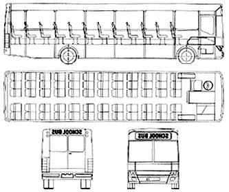 BMC 1100 FE School Bus (UK) (2006)