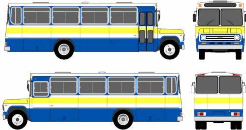 Chevrolet C60 Bus (1974)