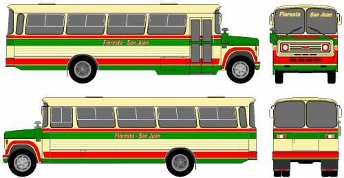 Chevrolet C60 Bus (1989)