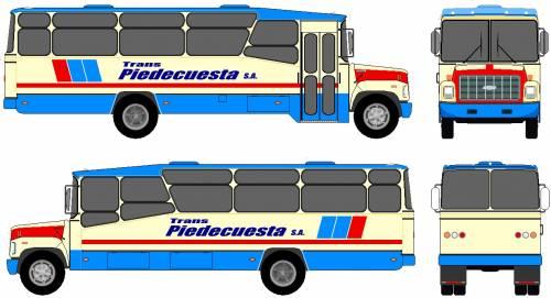 Chevrolet Kodiak B70 Bus (1998)