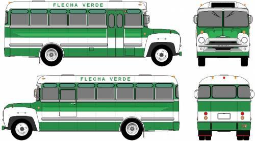 Chevrolet Metropolitana Bus (1963)