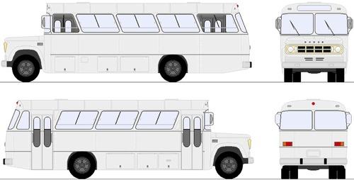 Dodge D500 Bus (1975)