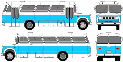 Dodge D500 Bus (1980)