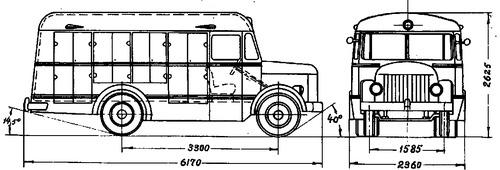 PAZ-661 (1957)
