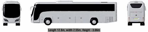 Plaxton Panther 12.8m