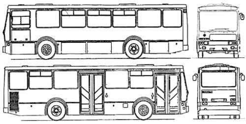 Rocar U410 Urban City Bus