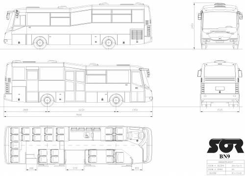 SOR BN 9.5 (City bus)