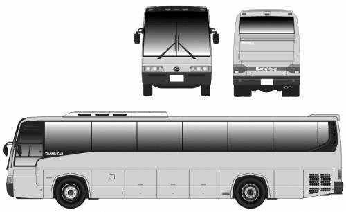 Ssangyong Bus Transstar OM401A