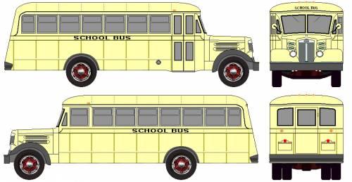 The-Blueprints.com - Blueprints > Buses > Various Buses > White School