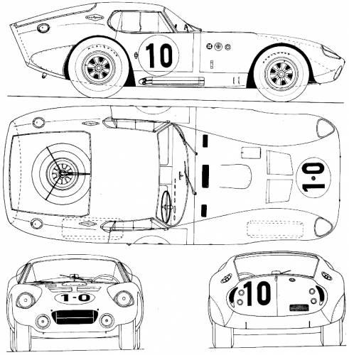 AC Cobra Daytona Coupe (1963)
