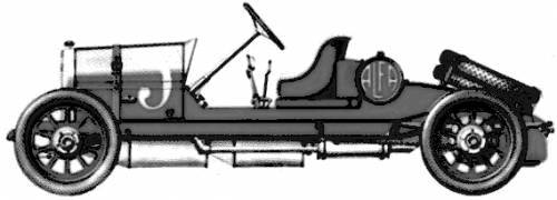 Alfa 24hp Spyder GP (1910)