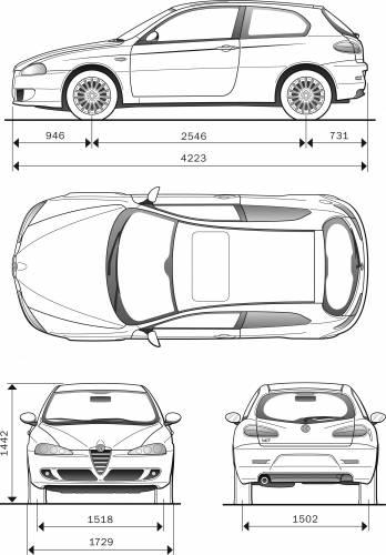 Alfa Romeo 147 3-Door (2007)