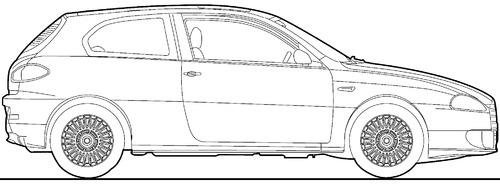 Alfa Romeo 147 3-Door (2008)