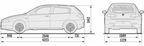 Alfa Romeo 147 5-Door (2007)