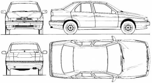 Alfa Romeo 155 QV (1993)