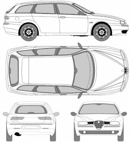 Alfa Romeo 156 Sportwagon (2001)