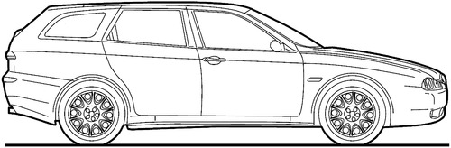 Alfa Romeo 156 Sportwagon (2007)