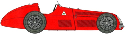 Alfa Romeo 159 Alfetta F1 GP (1950)