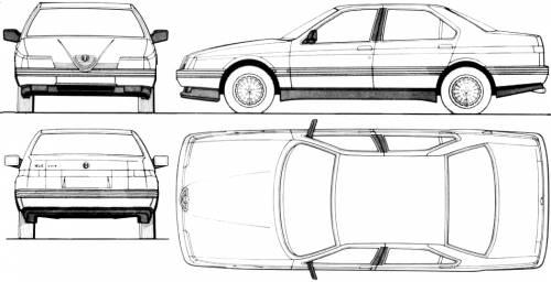 Alfa Romeo 164 (1990)