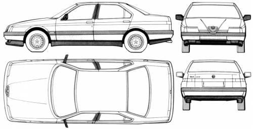 Alfa Romeo 164 (1991)
