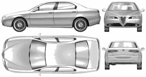 Alfa Romeo 166 (2002)