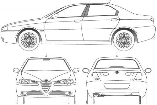 Alfa Romeo 166 (2005)
