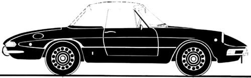 Alfa Romeo 1750 Spider Duetto