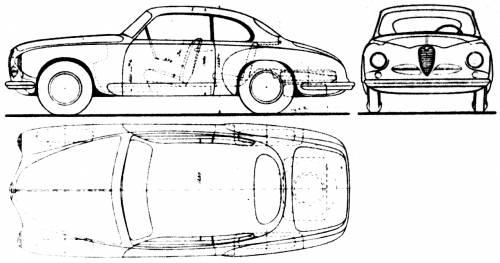 Alfa Romeo 1900 Coupe (1950)